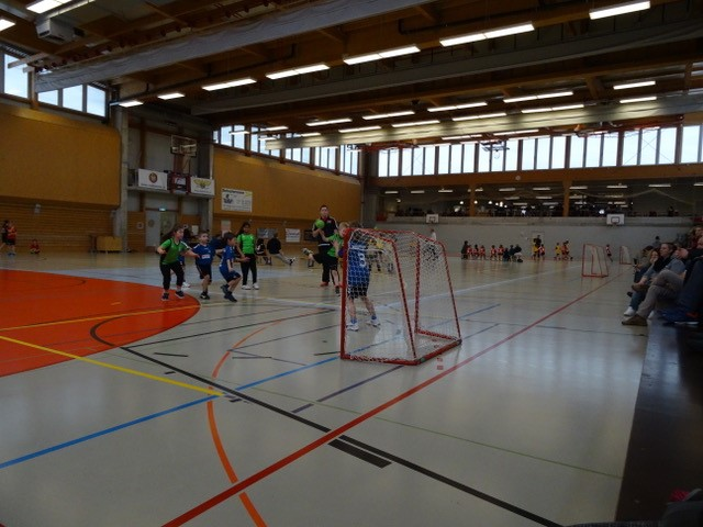 Mini U9 /u11 in Aktion
